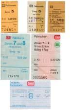 Verschiedene/131068/fahrkarten---aussehen-im-wandel-der Fahrkarten - Aussehen im Wandel der Zeit