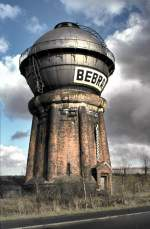 Wasserturme/147360/wasserturm-in-bebra-am-12041982 Wasserturm in Bebra, am 12.04.1982.