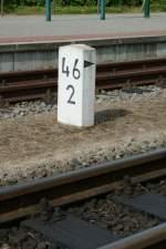 Hektometertafeln/42004/kilometerstein-in-binz-lbsept-2009 Kilometerstein in Binz LB Sept. 2009