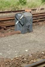 Gleise und Weichen/23375/ein-recht-massiges-dkw-signal-in-sassnitzjuni Ein recht massiges DKW-Signal in Sassnitz (Juni 2009)