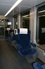 Reisezugwagen/11677/1-klasse-im-loetschberger-25-februar 1. Klasse im 'Lötschberger' (25. Februar 2009)