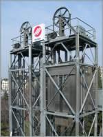 sonstiges/124458/kein-foerederschacht-eiens-kohlebergwerkes-sondern-die Kein Förederschacht eiens Kohlebergwerkes, sondern die Liftanlage zur M1 in Lausanne bei der Haltestelle Vigie.  03.03.2011