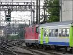 Geleise und Weichen/8269/ausfahrt-aus-dem-bahnhof-von-bern Ausfahrt aus dem Bahnhof von Bern. 30.07.08 (Jeanny)