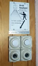 Signale und Sicherheitstechnik/53186/halt-auf-verlangen---mit-gebrauchsanweisungdoch Halt auf Verlangen - mit Gebrauchsanweisung. Doch bis ich die Knöpfe in La Cibourg gefunden hatte, dauerte es eine Weile. 18.01.2010